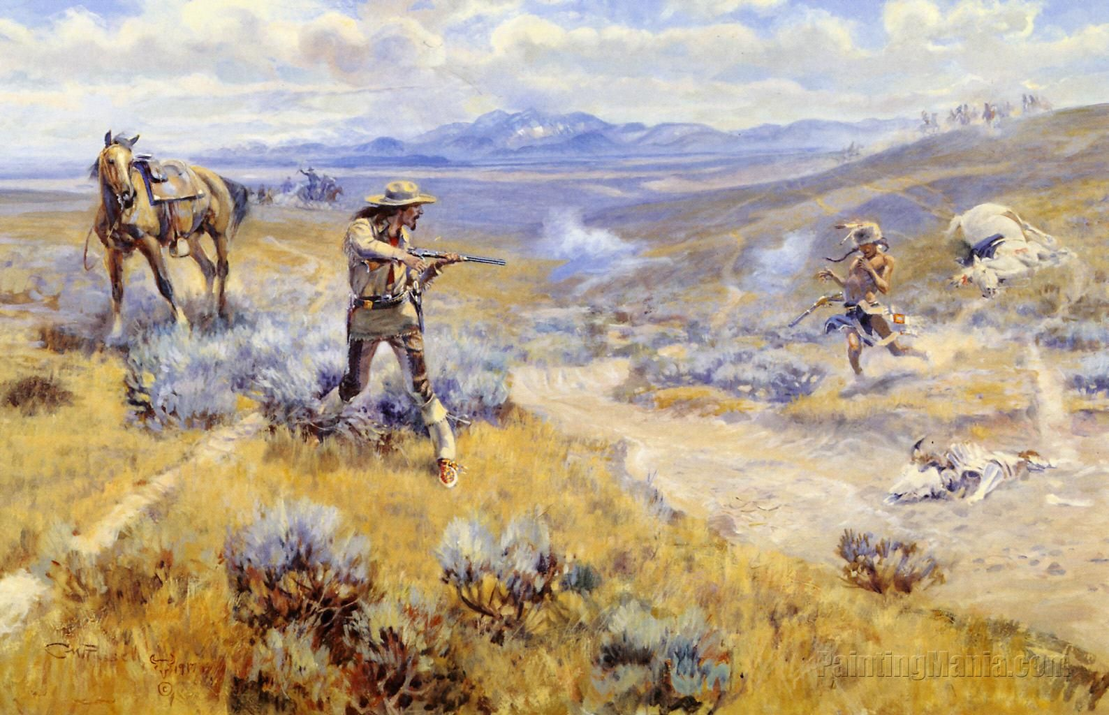 Charles M. Russell, painter | Inspirations