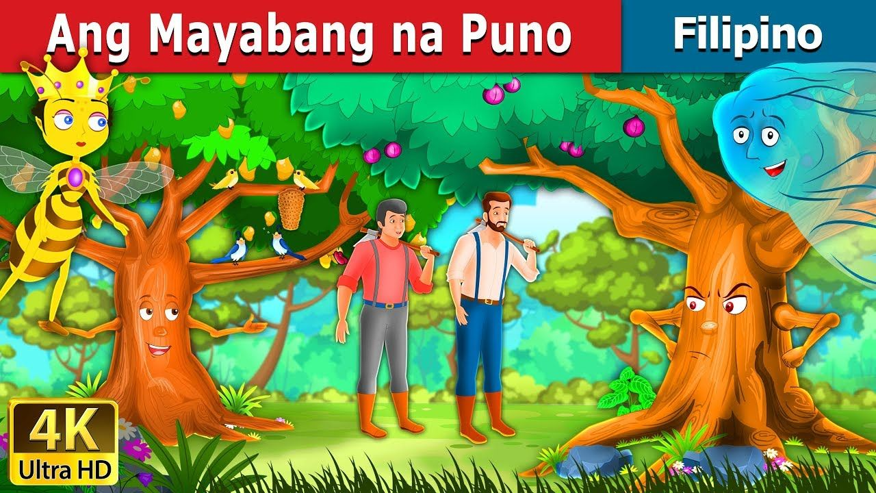 Ang Mayabang Na Puno Kwentong Pambata Filipino Fairy Tales Fairy Tales Lion And The Mouse Tree Story