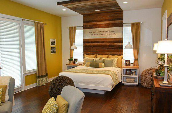 schlafzimmer bettkopfteil holz design Terra Firma Home - moderne schlafzimmer designs