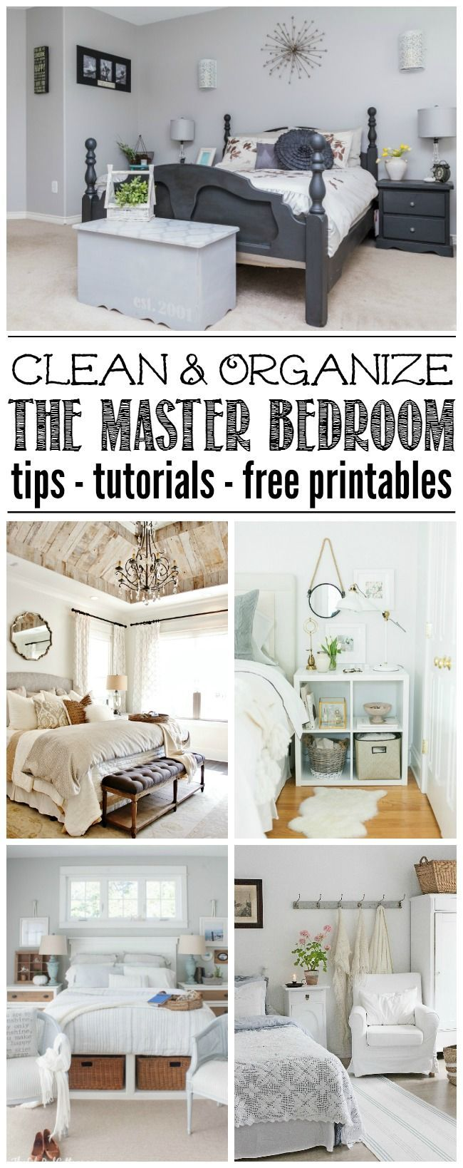 Master Bedroom Organization And Cleaning Tips Master Bedroom Organization Organization Bedroom Organization Hacks Bedroom