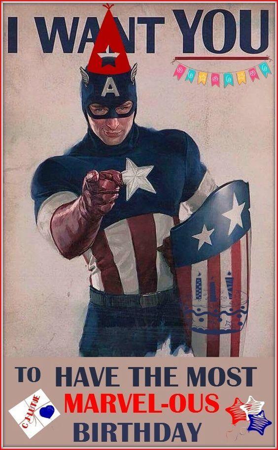 Captain America Birthday By Cjlutje Deviantart Com On Deviantart