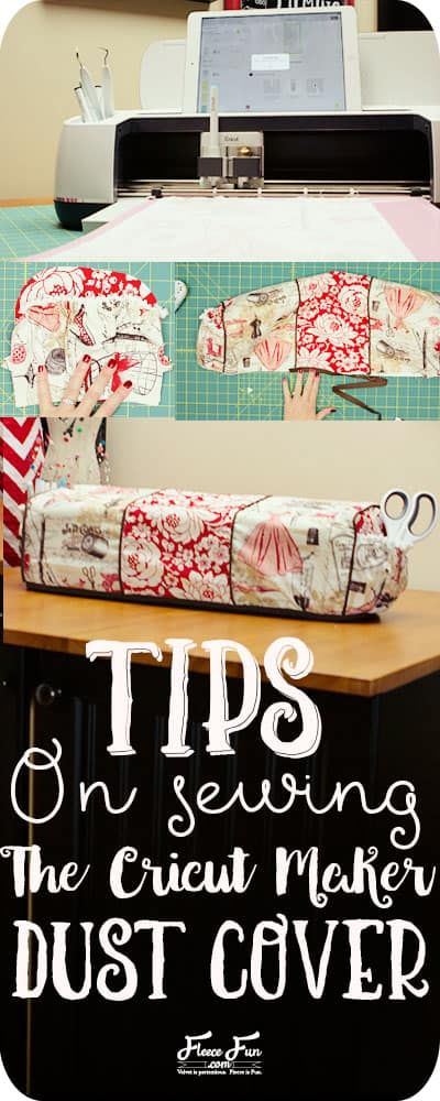 Cricut Maker Cover Tutorial Tips and Tricks ♥ Fleece Fun