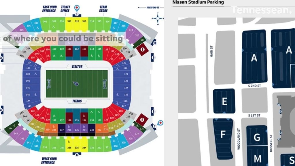 Amazing Nissan Stadium Seating Chart Nissan Stadium Seating Charts Tennessee Titans
