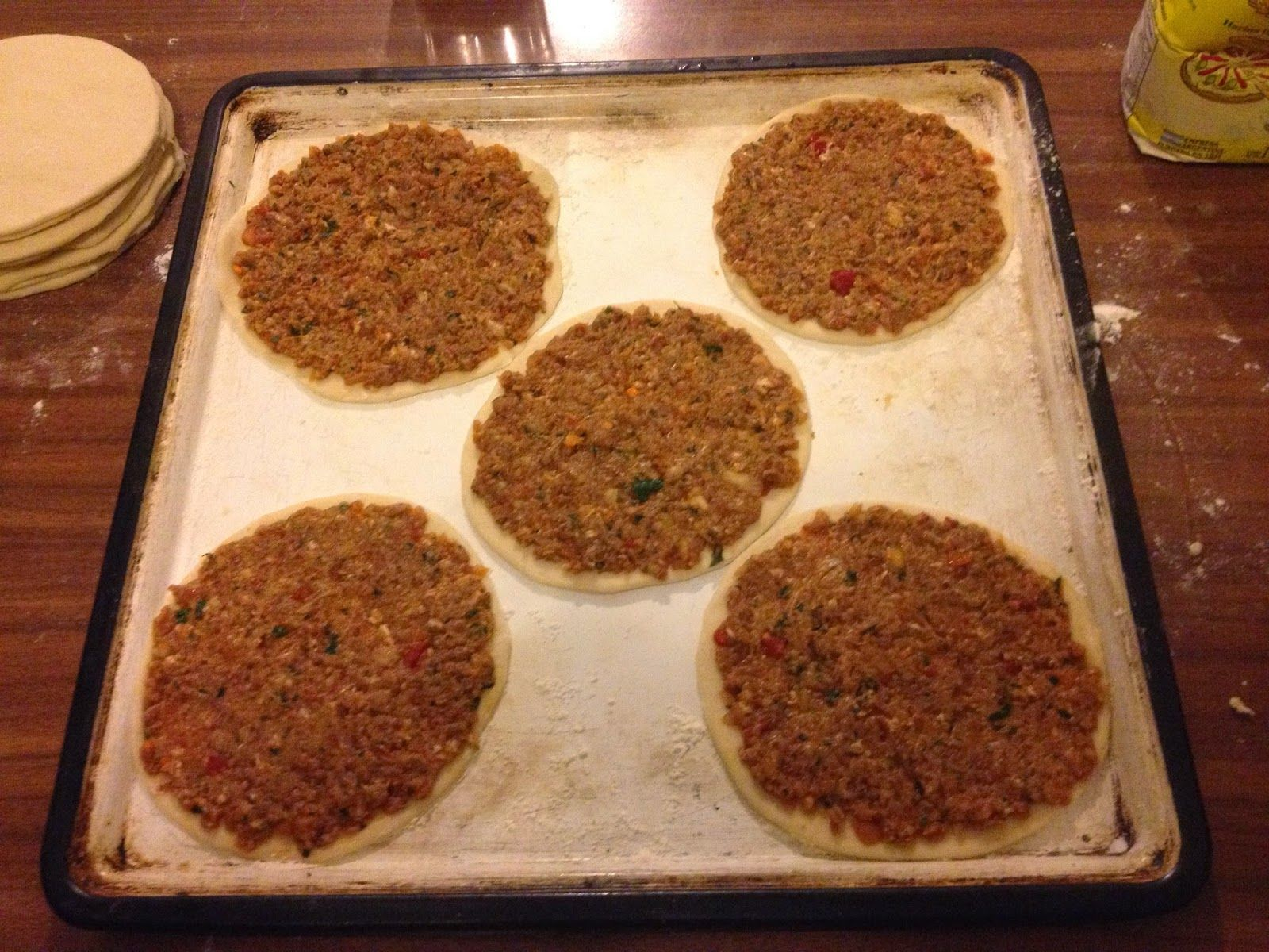 Thearmeniankitchen everything about armenian food the great the great lahmajoun dough experiment has begun forumfinder Choice Image