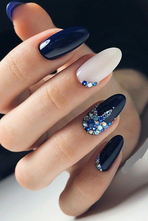 cute winter nail design 2018