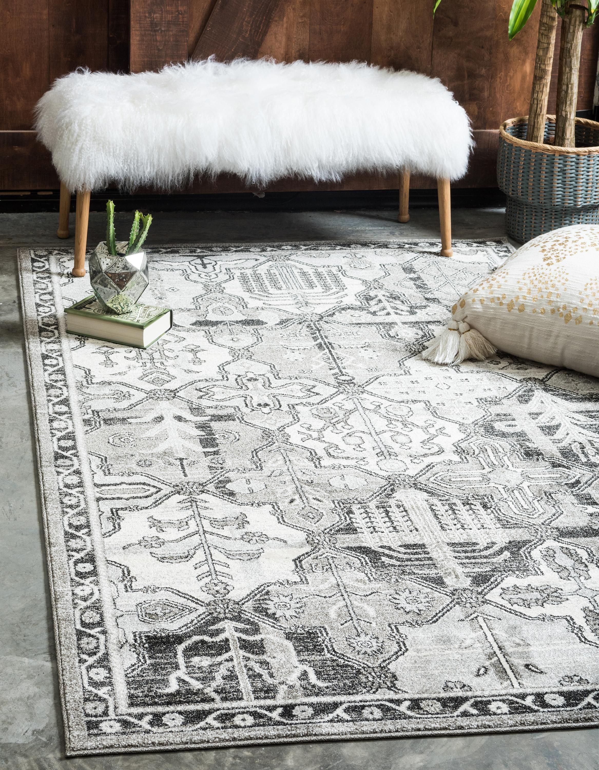 Gray 10 X 14 Vista Rug Area Rugs Esalerugs Geometric Area Rug Clearance Rugs Area Rugs