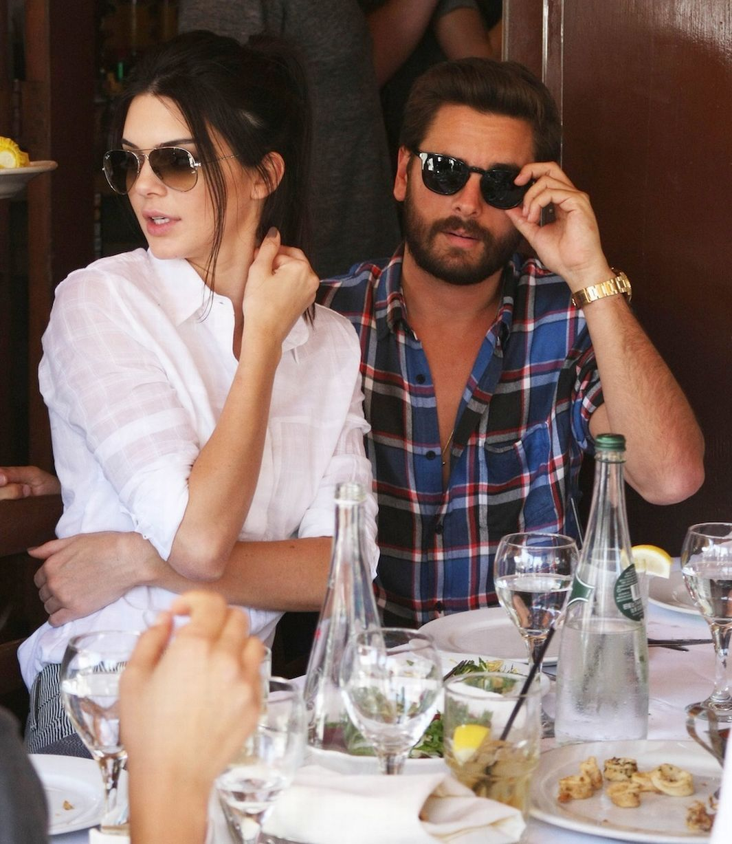kendall and scott disick