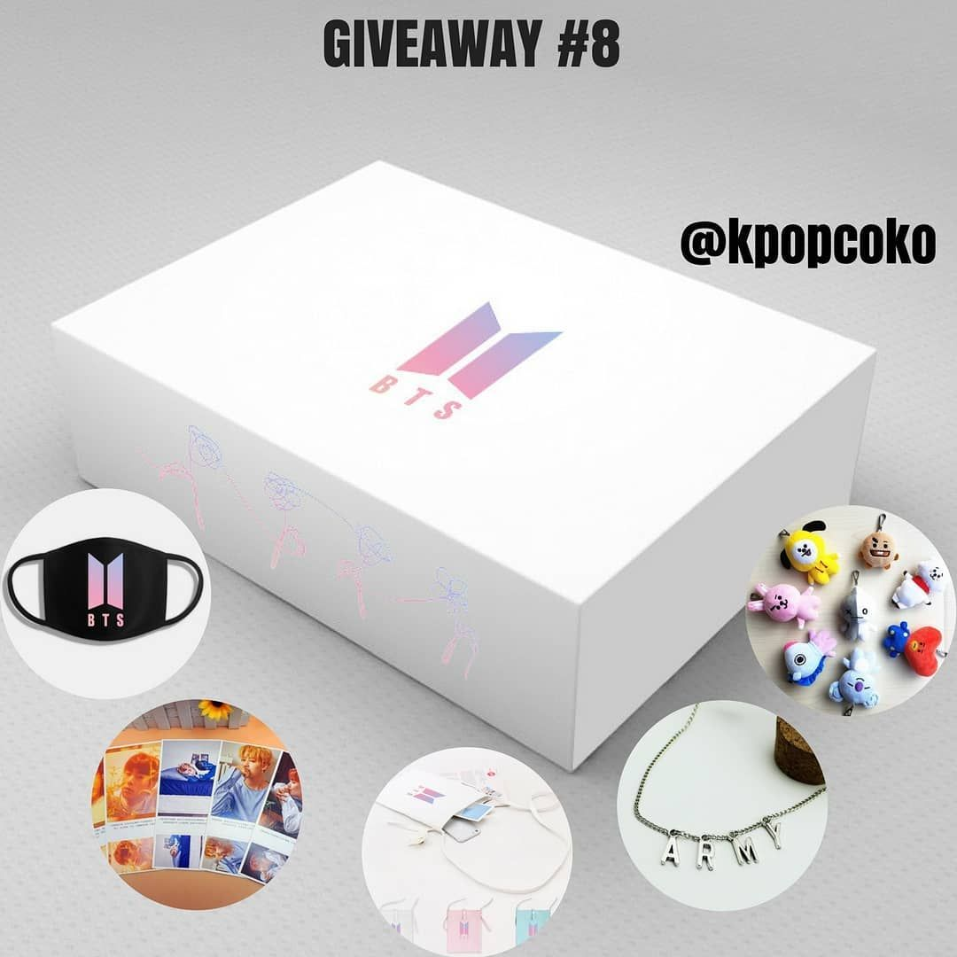 Kpop giveaways
