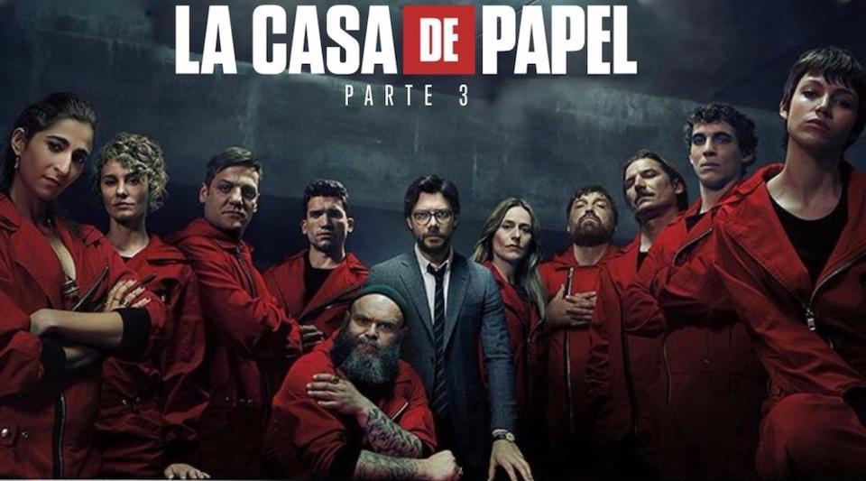 Bigger And Bolder Netflix S Casa De Papel Money Heist Returns With An Incredible Plot Netflix Releases Netflix Series Netflix