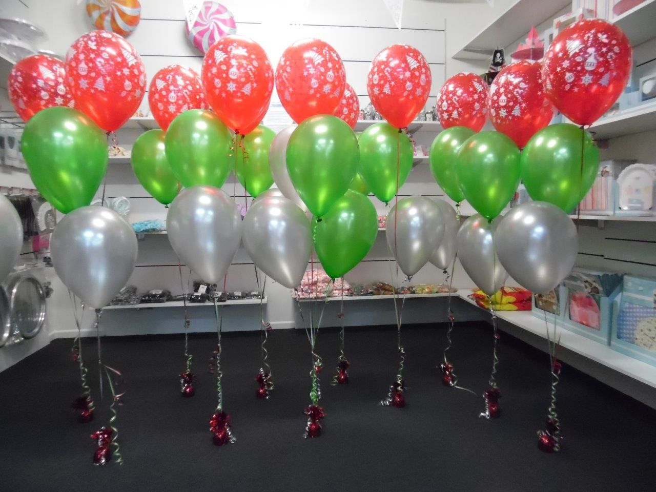 Awesome Party Supplies Shop On The Gold Coast Designing Christmas Balloon  Arrangements For All Theme And Sized Events.