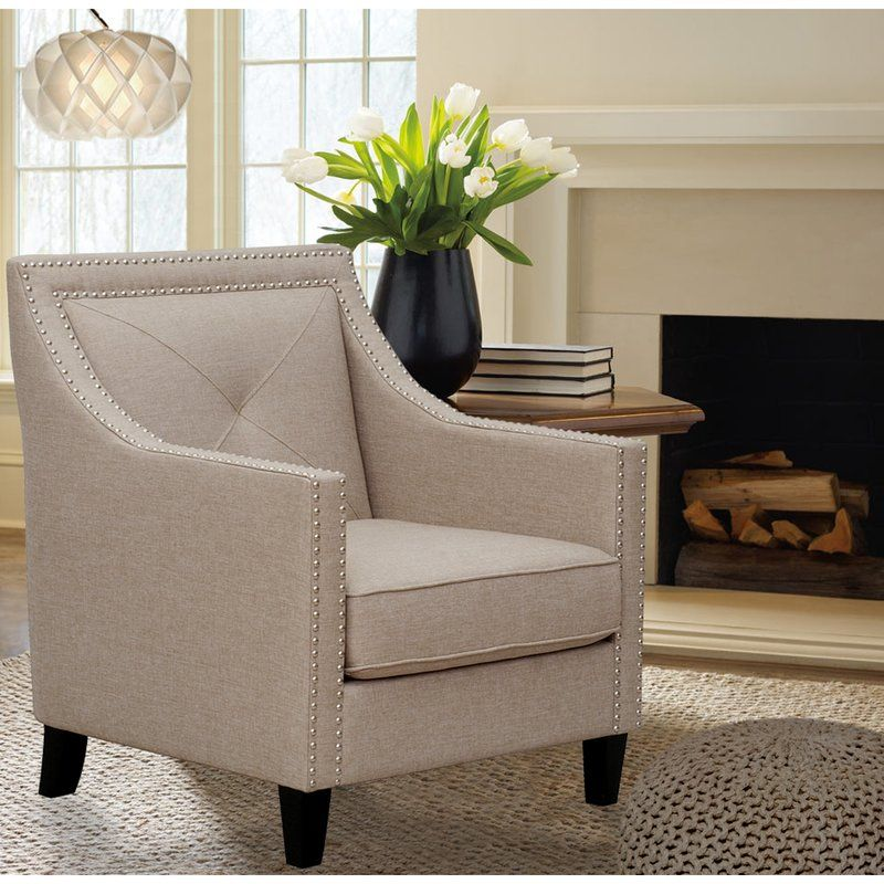 Kennedy Tufted Armchair Small Scale Option See Other Colors