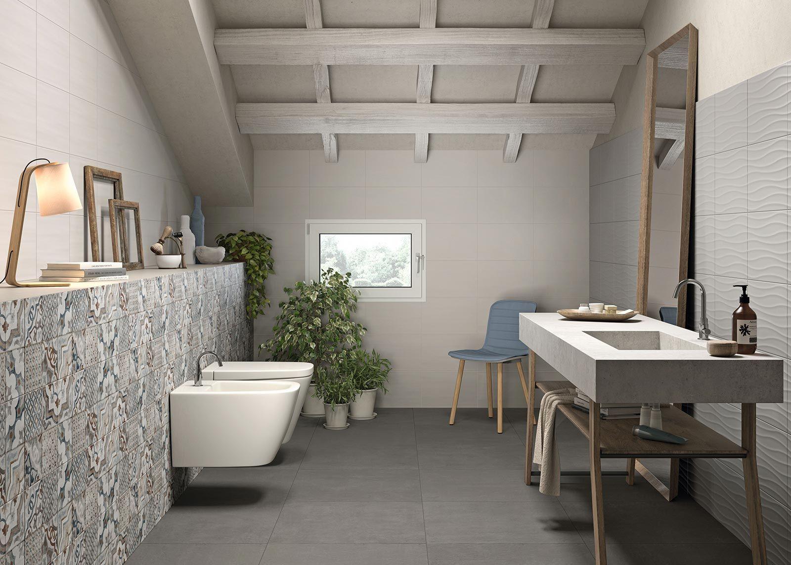 Favorito White Tiles: view the collections | Marazzi | salle de bain  QJ94