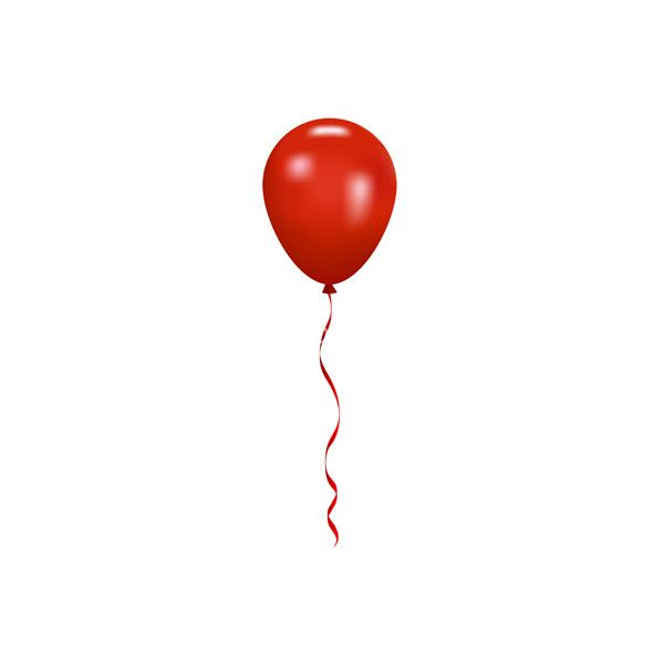 Red Balloon Vector 875099 By Yuliaglam Royalty Free Vector Art Liked On Polyvore Featuring Balloon And Filler Red Balloon Balloons Free Vector Art