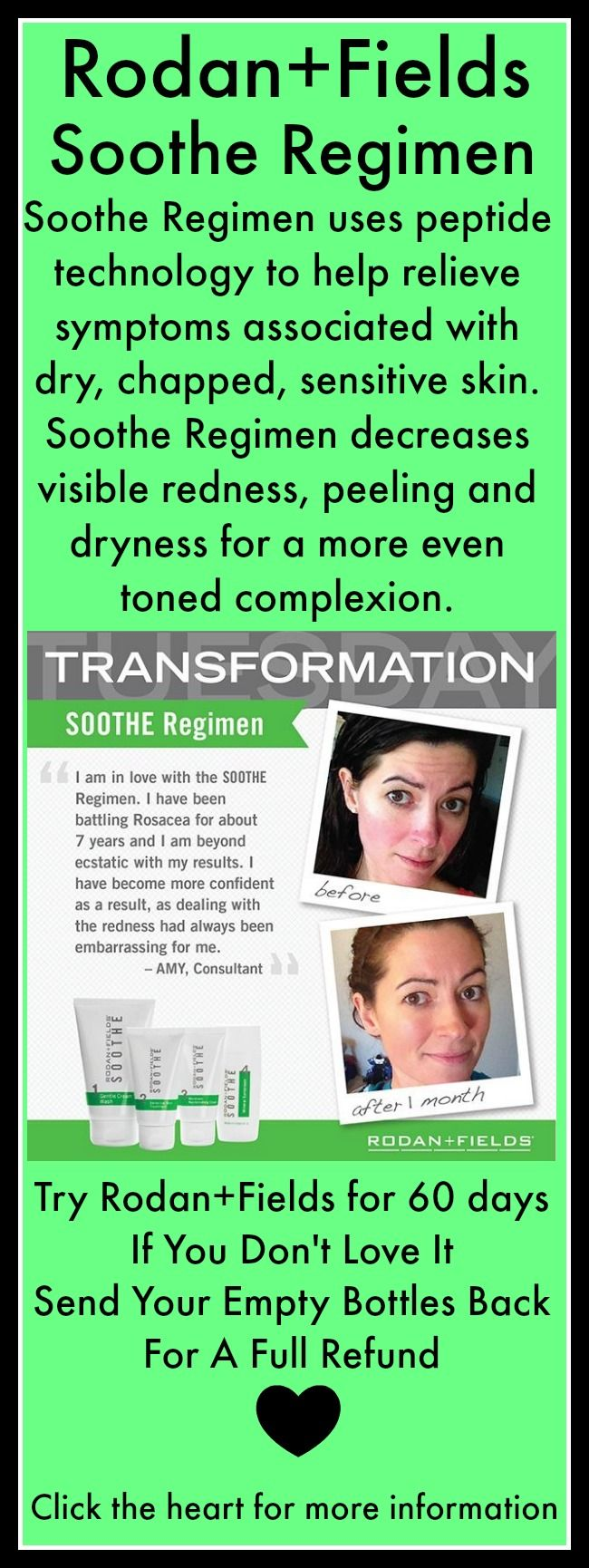 R+F Soothe Regimen contains skin soothing peptides that work to neutralize triggers that produce…