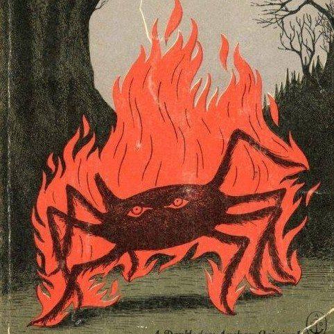 обложка к германским сказкам (рассказам?) 19 века | Старые ...