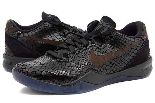 new arrival ff302 86d18 ... VIII EXT YOTS Year of the Snake Black Mamba Nike Kobe NIKE ZOOM KOBE 8  EXT YOTS BLACK MAMBA BLACK BLACK-METALLIC SILVER ...