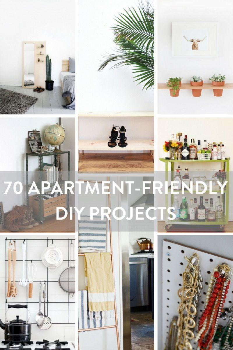 70 Amazing Apartment Friendly Decor Projects Diy Apartment Decor