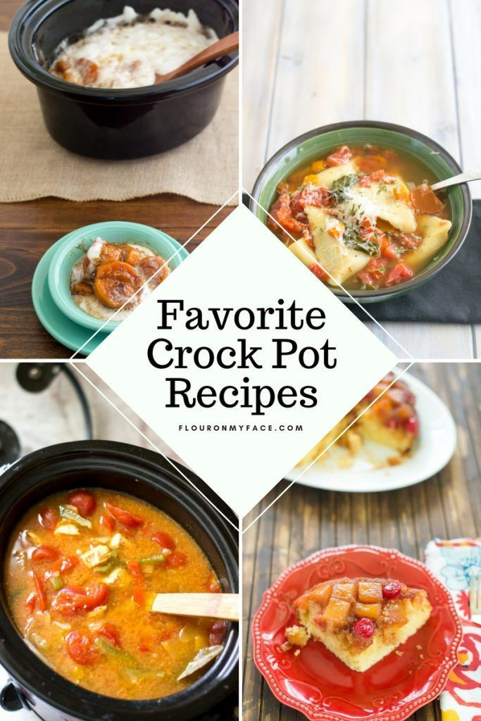 Favorite Crock Pot Recipes #crockpotgumbo Favorite Crock Pot Recipes #crockpotgumbo