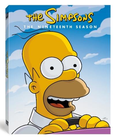The Simpsons The Complete Nineteenth Season On Dvd The Classy Chics The Simpsons The Simpsons Movie Simpson