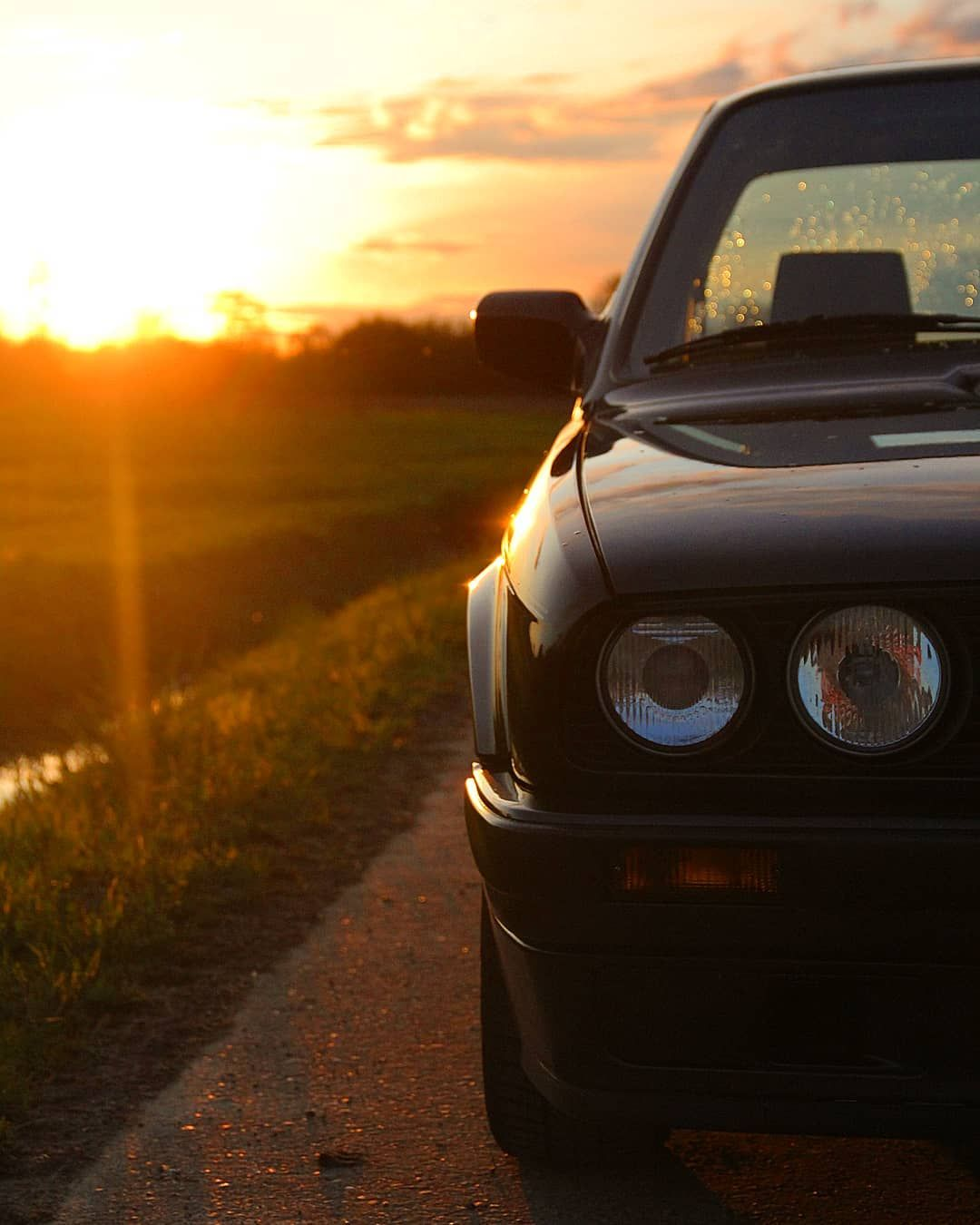 Bmw Z8 Sports Car: #bmw#e30#sunset#carlove#carporn#bmwe30#bbs#oldtimer