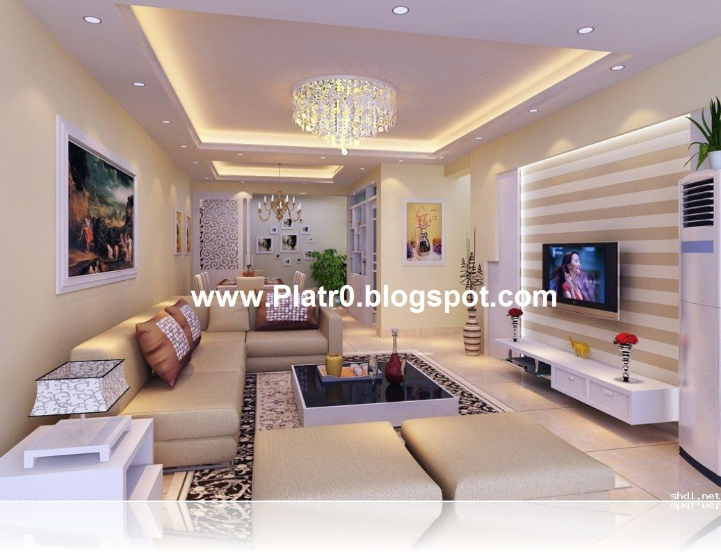 Deco Plafond Salon
