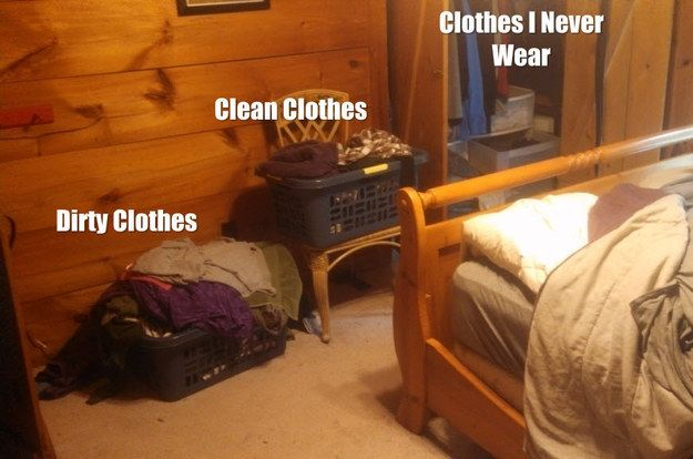 Once The Laundry Pile Is Large Enough The Clothes In It Will Begin To Clean Themselves Funny Picture Gallery Funny Pictures Cleaning Clothes