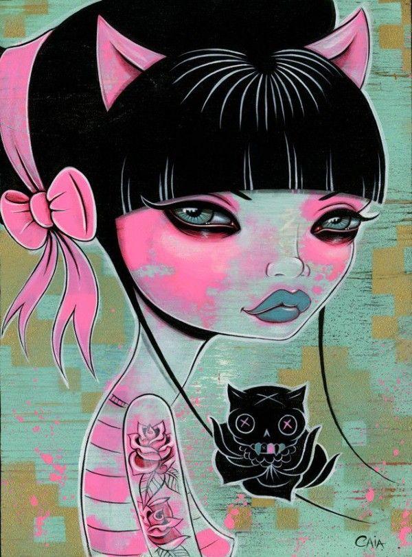 Caia Koopman Art | Art Crush: California Artist Caia Koopman - Art Crush