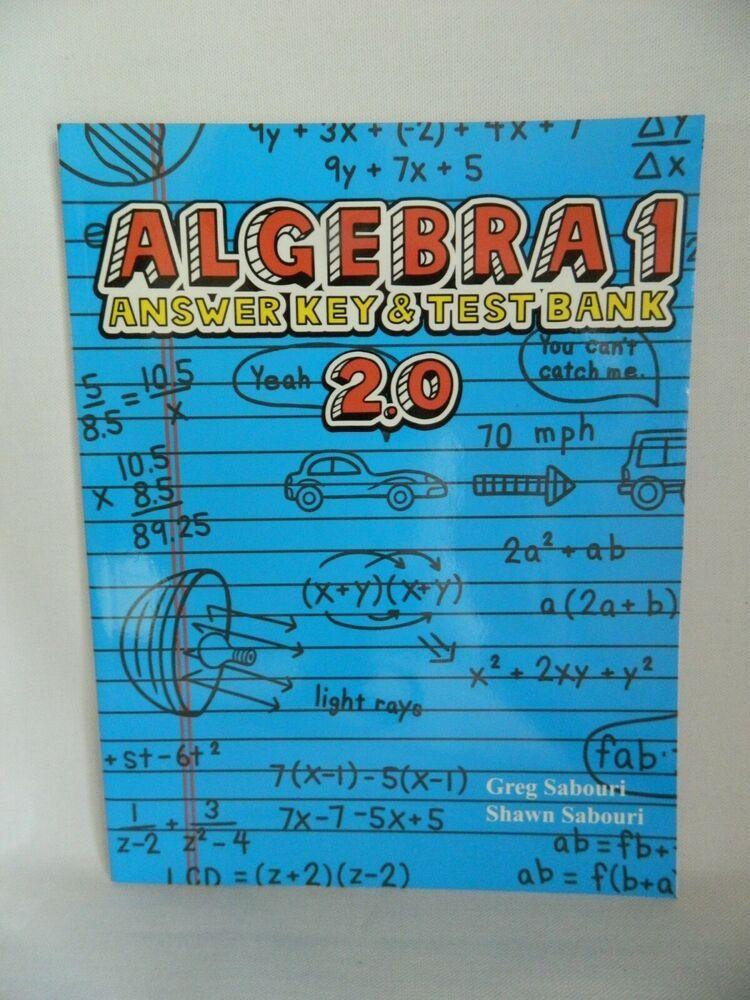 Algebra 1 Teaching Textbook Answer Key Textbook Teaching Textbooks Algebra Algebra 1