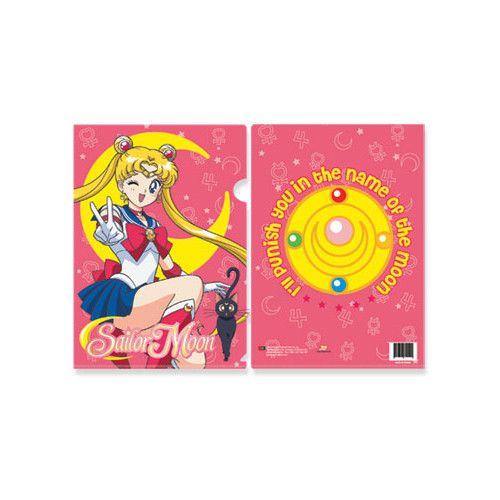 School Folder Moon And Brooch Sailor Moon File Folders