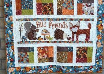Fall Friends Applique Quilt