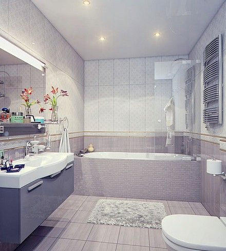Дизайн ванной комнаты 5 кв. м. | Дизайн ванной, Дизайн ...