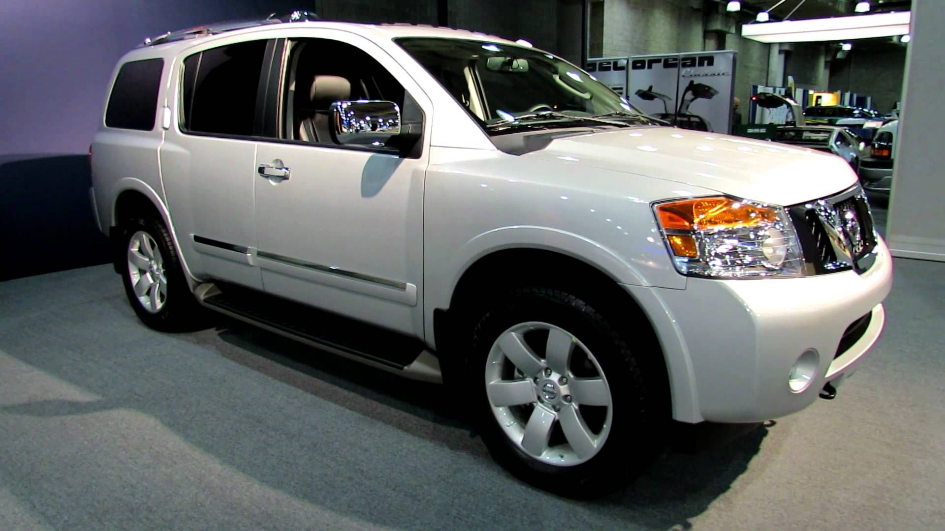 2016 nissan armada white color pictures