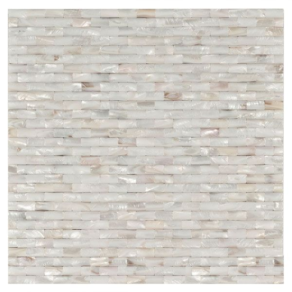 Cushion Brick Mosaic Mother Of Pearl Tile