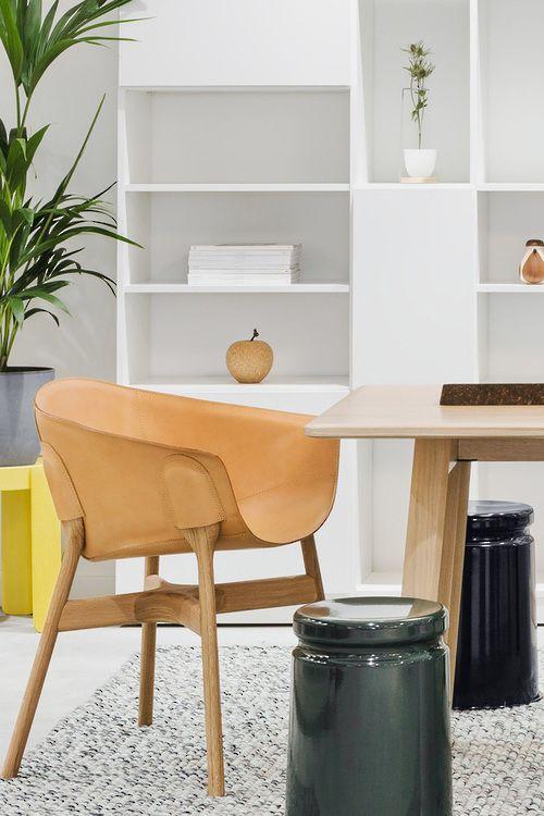 Elegant Hem Pocket Armchair   Natural   Furniture   The Ivy House