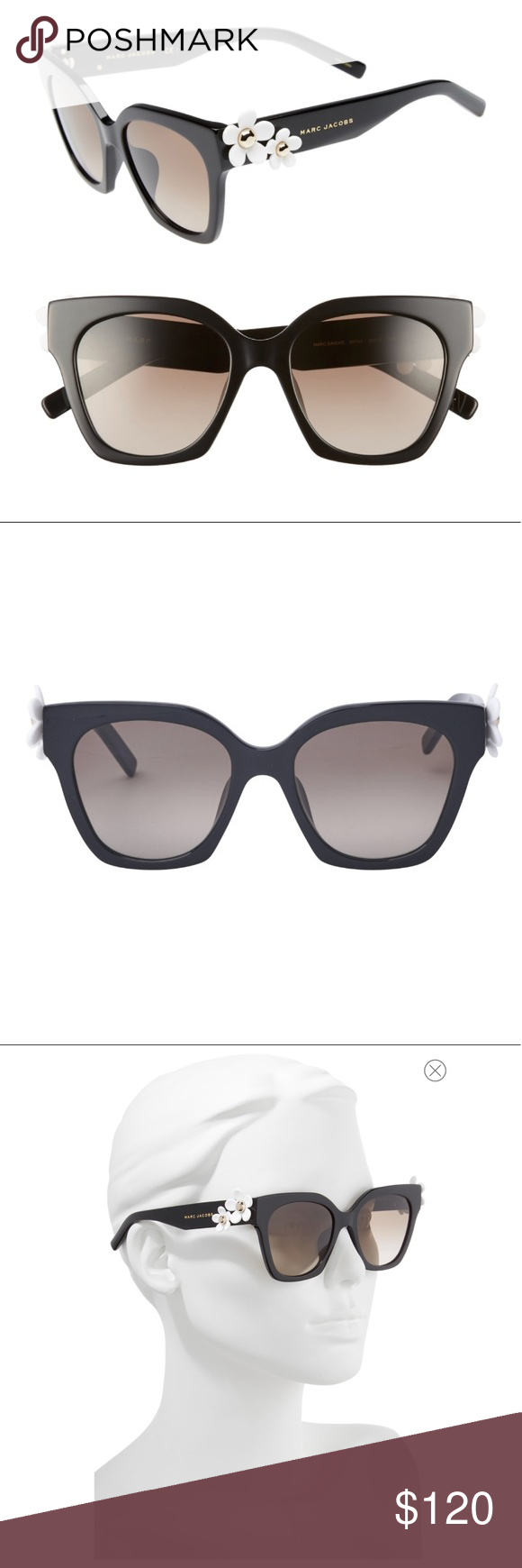 5c3ce306bf380 Marc Jacobs Daisy Sunglasses New. Never worn. Perfect condition. Were on  display at