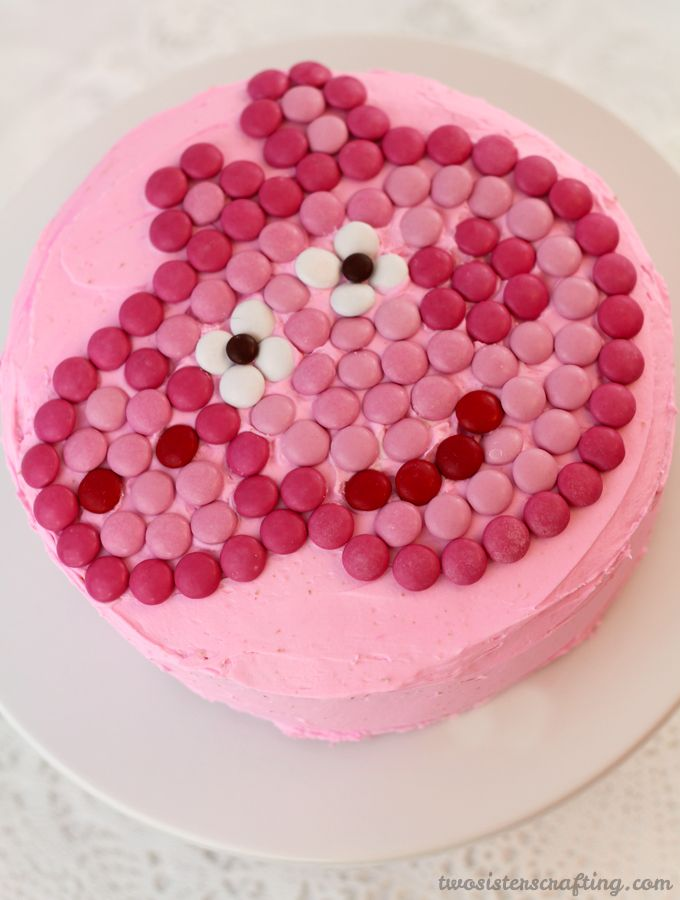 Peppa Pig MM Cake Pig party Pig birthday and Birthday cakes