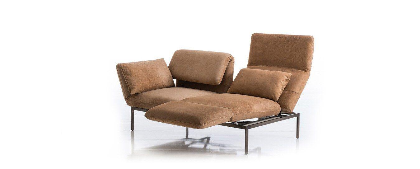 Brühl roro medium Schlafsofa Velvet Leder | ☆ Seating // Design ...