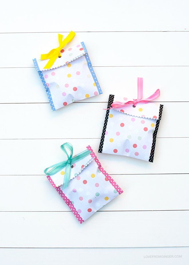 freebie cookie bag download Love From Ginger print and enjoy - love templates free