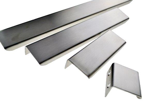 Handle That Fits On Top Of The Door Or Drawer To Give A Minimalist Look Cabinet Handles Available In Brushed Stainless Steel
