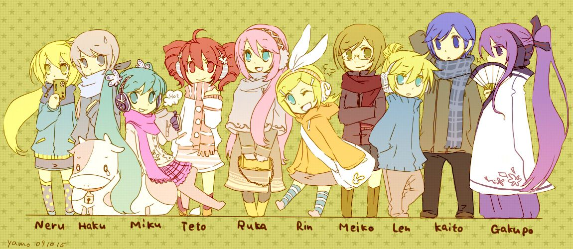 all vocaloid characters and names | All Vocaloids Names ... Vocaloid Characters Name