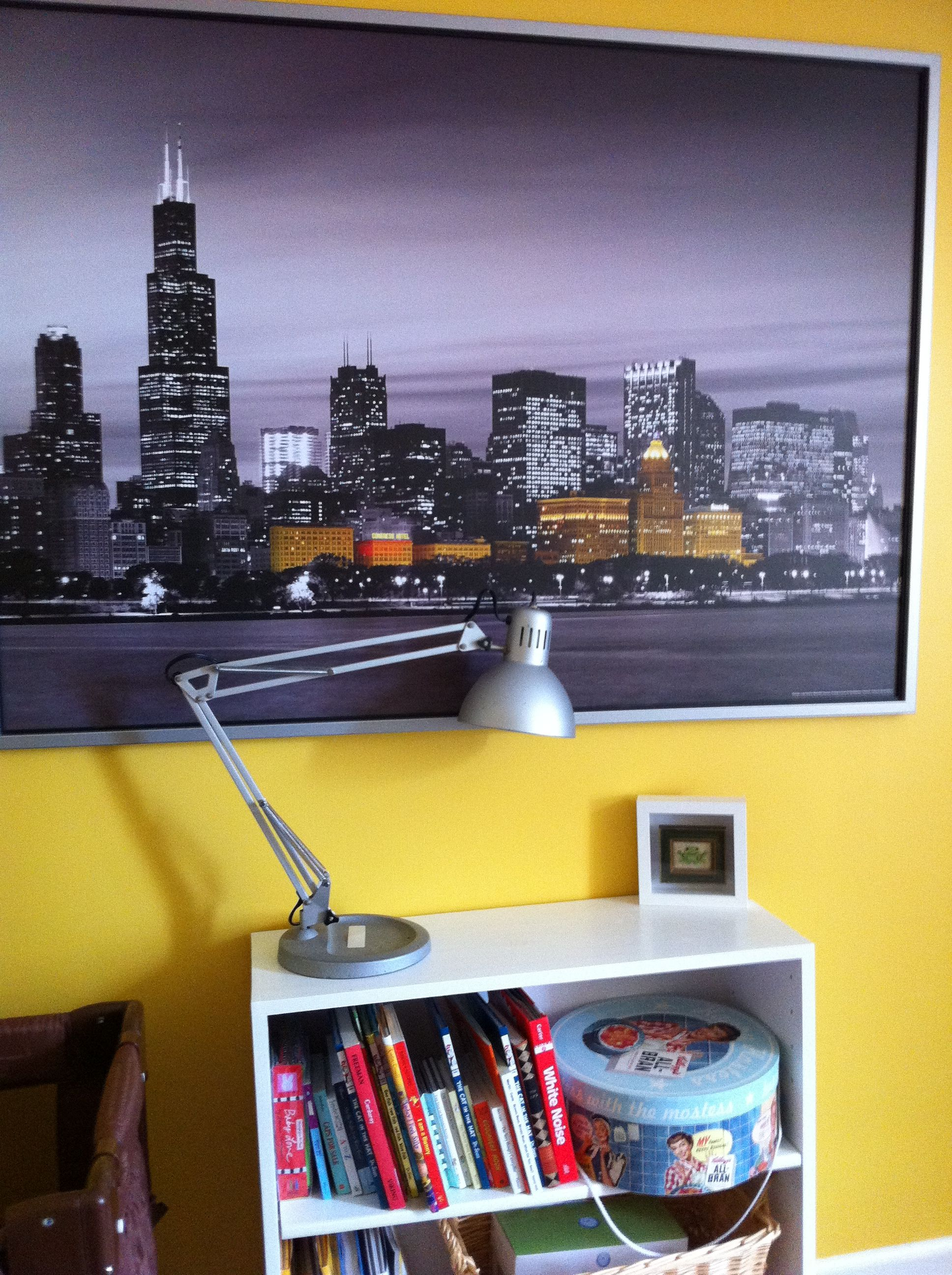 Chicago Print - IKEA | Da Chi | Pinterest | Room, Walls and Living rooms