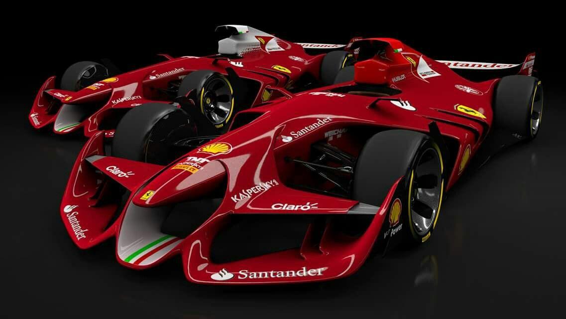 Ferrari F1 2020 Super Cars Futuristic Cars Ferrari