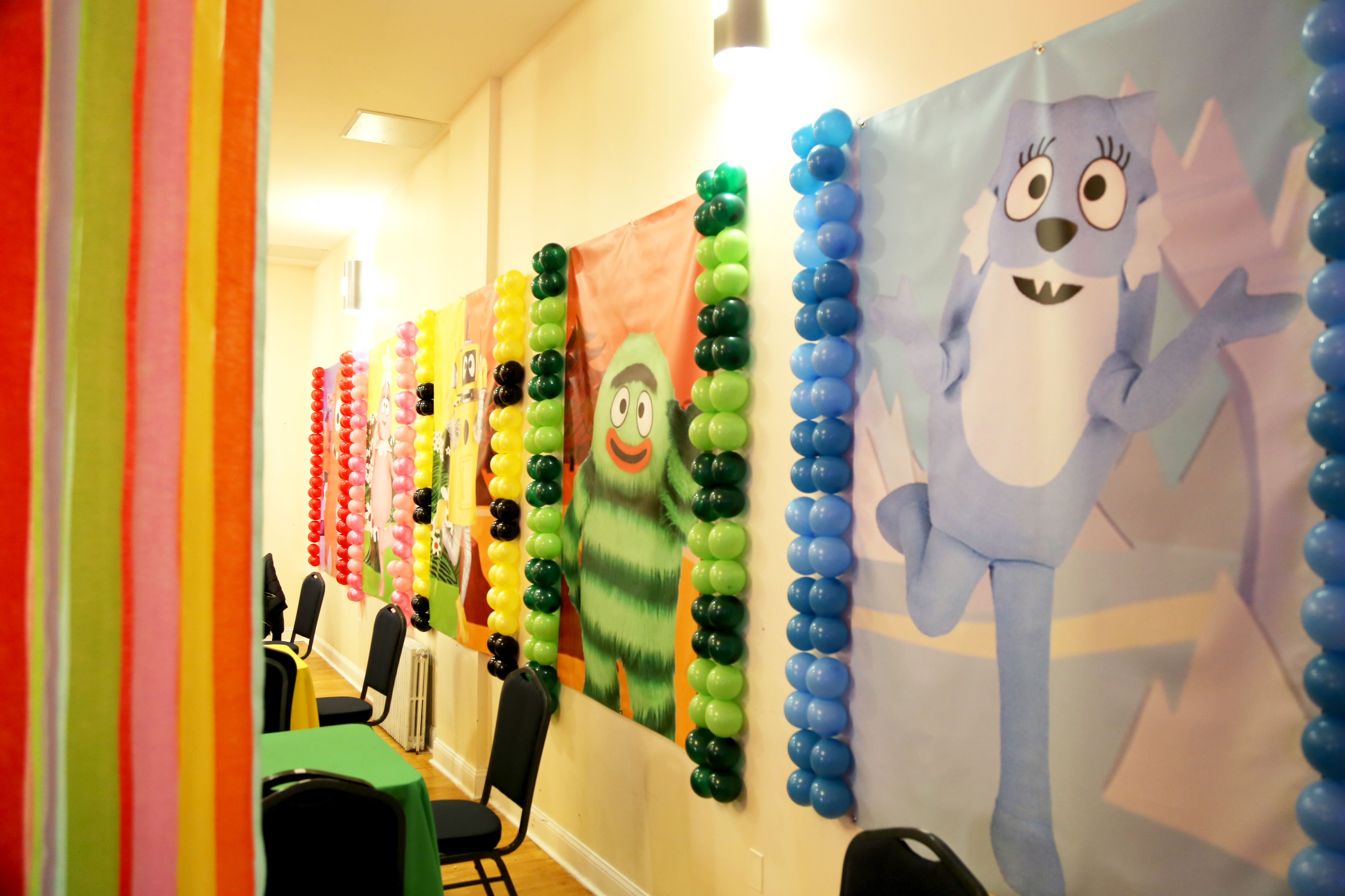 Fancy Party Decorations Wall Scenes Elaboration - Wall Art ...