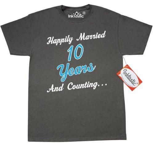 Inktastic 50th Anniversary Funny Husband Gift T-Shirt Anniversaries Couple Mens
