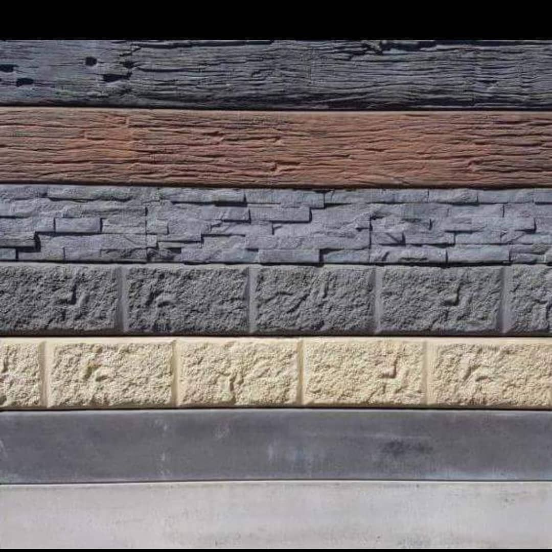 Concrete Retaining Sleeper Wall With 6 Styles To Choose From Concrete Sleeper Retaining Walls Landscaping Retaining Walls Timber Deck
