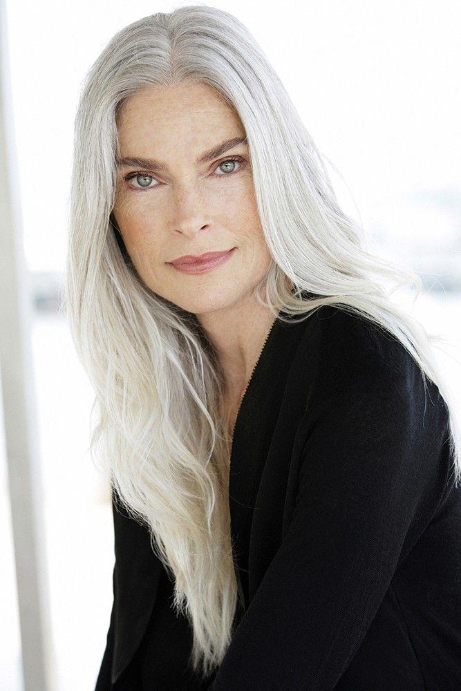 silver agence de top mod les de plus de 40 ans paris silver babes pinterest gray hair. Black Bedroom Furniture Sets. Home Design Ideas