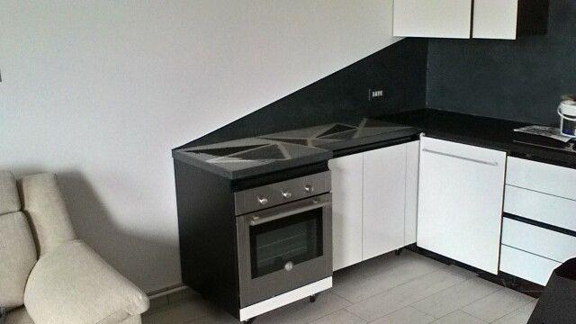 Decorazione top cucina in grani di quarzo e resina - Top cucina in resina ...