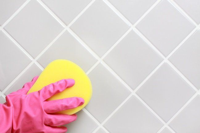 45 Brilliant Cleaning Tricks For Every Occasion That Really Work Small Joys Diy Grout Cleaner Vinegar Cleaning Solution Homemade Grout Cleaner