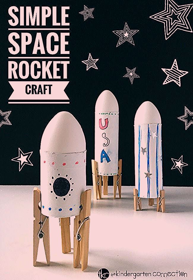 Photo of Simple Rocket Space Craft for Kids