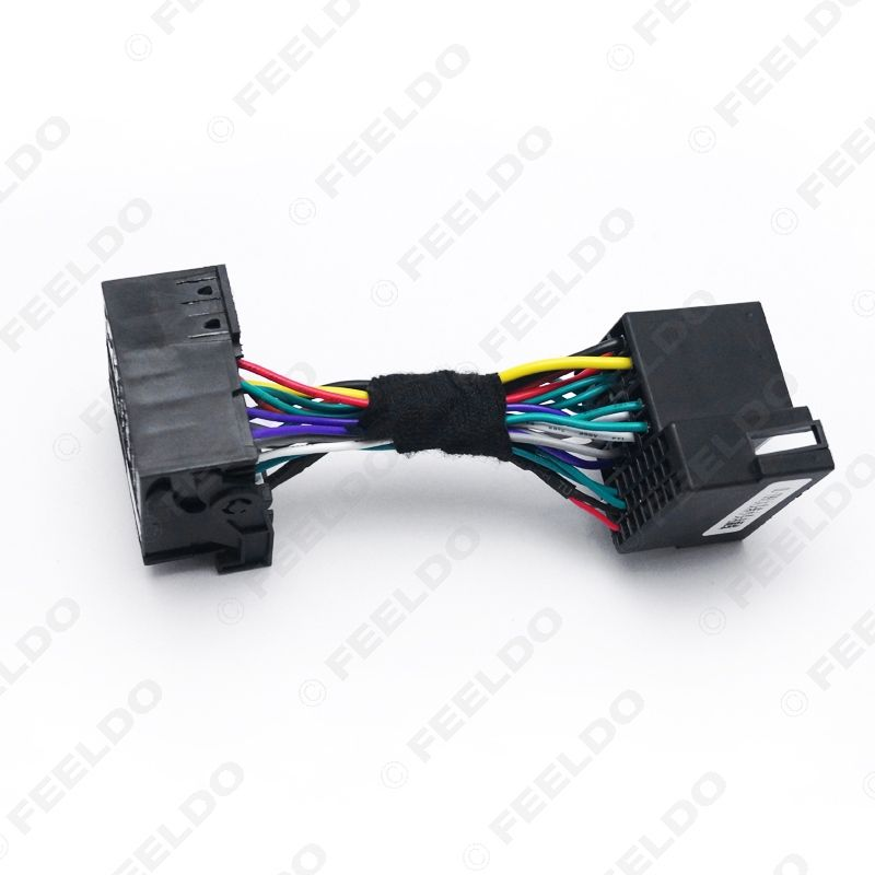 Marvelous 36Pin Male Connector Adapter To 40Pin Female Car Head Unit Stereo Wiring 101 Bdelwellnesstrialsorg